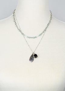 Teardrop Pendant Necklace - In Your Space Boutique