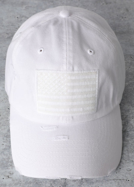 USA Cap (White) - In Your Space Boutique