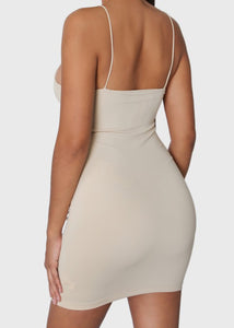 Smooth Bodycon Mini Dress - In Your Space Boutique