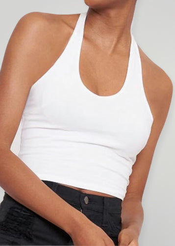 Ivory Halter Top - In Your Space Boutique