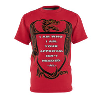 I am Who I Am-Unisex AOP Cut & Sew Tee