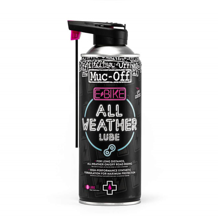 Muc-Off E-BIKE olje za verigo (sprej) All-Weather Lube