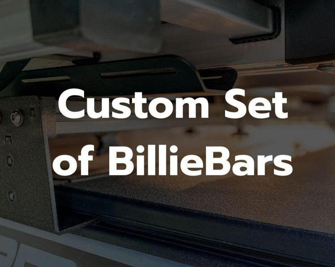 BillieBars, Custom Set