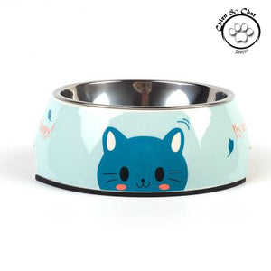 Stainless steel dog bowl cat bowl