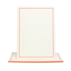 Stationery Set - Coral