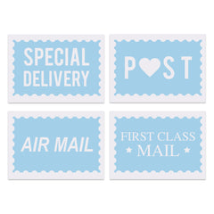 Postage Postcard Set