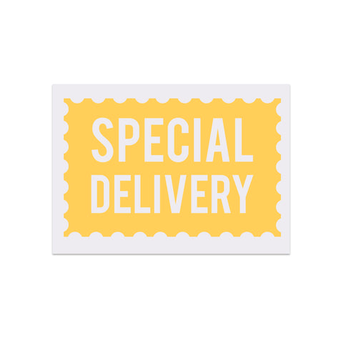 Special Delivery Postcard