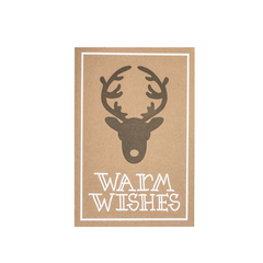 Warm Wishes Postcard Set Of 5