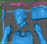 Abby The Last of Us - STL File for 3D Print - indymodel88