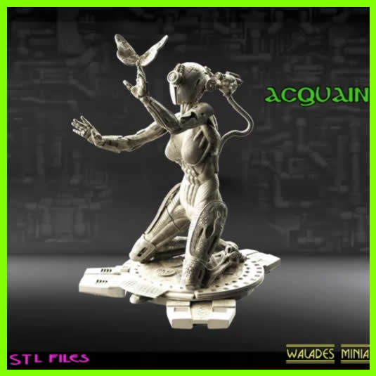 Acquaintance - STL File for 3D Print - indymodel88