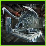 Alien Queen Xenomorph Diorama - STL File for 3D Print - indymodel88