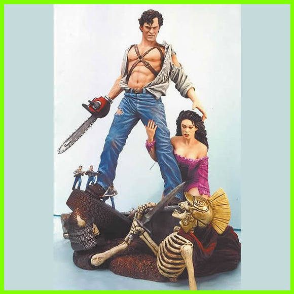 Army of Darkness Statue - STL File for 3D Print - indymodel88
