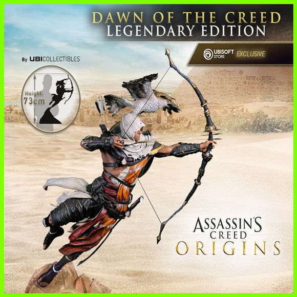Bayek Assassin's Creed Origins Dawn of The Creed - STL File for 3D Print - indymodel88
