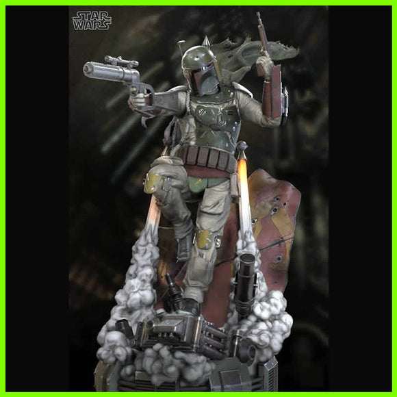 Boba Fett Star Wars - STL File for 3D Print - indymodel88