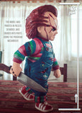 Chucky Child's Play - STL File for 3D Print - indymodel88