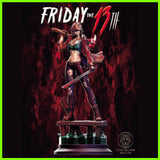 Female Jason Friday the 13th - STL File for 3D Print - indymodel88