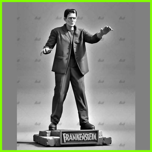 Frankenstein Universal Classic Monster - STL File for 3D Print - indymodel88