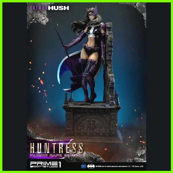 Hush Huntress Batman - STL File for 3D Print - indymodel88