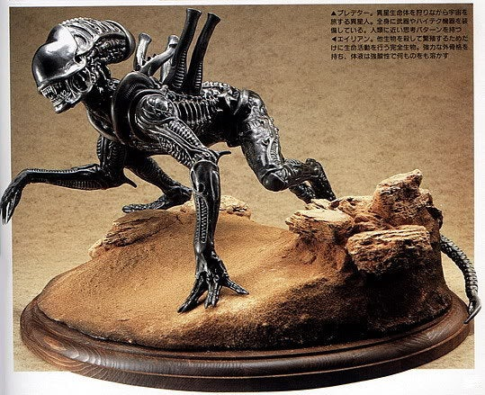 Alien Xenomorph Warrior 1/6 vinyl model kit figures - indymodel88