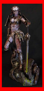 Female Predator Samurai 1/6 Narin Sculpts resin model kit figures - indymodel88