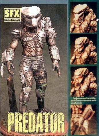 Predator with 3 Faces 1/6 vinyl model kit figures - indymodel88