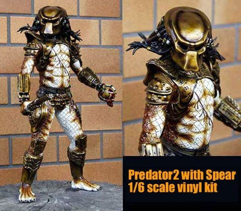 Predator2 with Spear 1/6 vinyl model kit figures - indymodel88