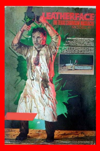 The Texas Chainsaw Massacre Leatherface 1/4 vinyl model kit figures - indymodel88