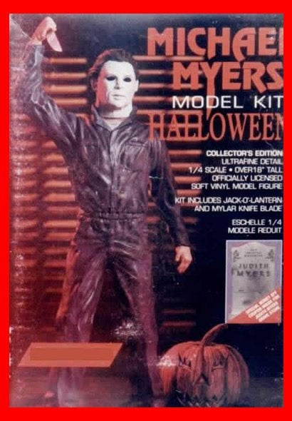 Halloween Michael Myers 1/4 vinyl model kit figures - indymodel88