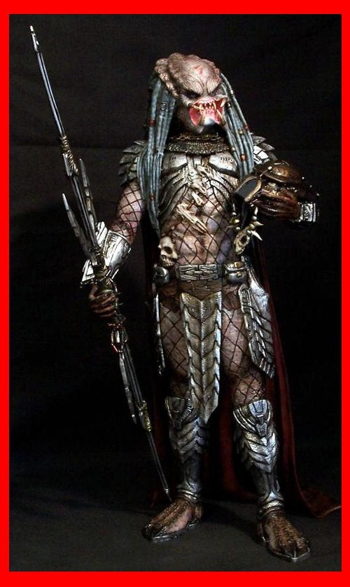 Elder Predator with Spear 1/6 Narin Sculpts resin model kit figures - indymodel88
