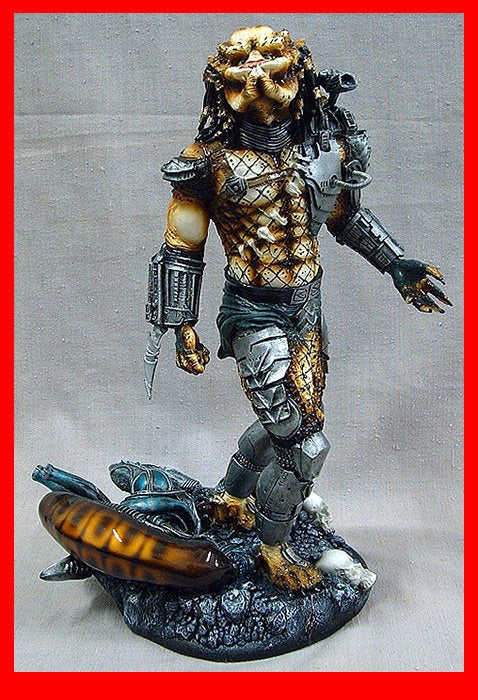 Hunter of Darkness Predator Eradicated Alien 1/6 resin model kit figures - indymodel88