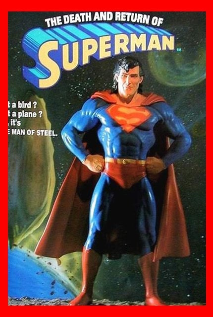 Superman The Death and Return 1/6 vinyl model kit figures - indymodel88