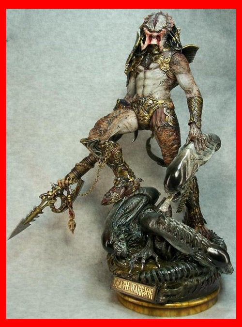 Death Warrior Predator 1/6 Narin Sculpts resin model kit figures - indymodel88