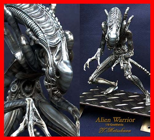 Alien Xenomorph Warrior 1/8 vinyl model kit figures - indymodel88