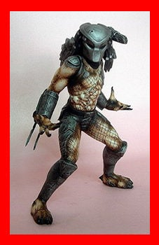 Predator 1/8 vinyl model kit figures - indymodel88