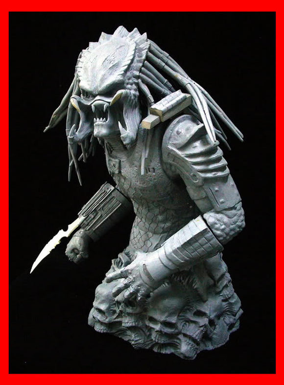 Ultimate Hunter Predator Bust 1/3 resin model kit figures - indymodel88