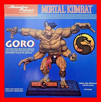 Goro Mortal Kombat 1/6 resin model kit figures - indymodel88
