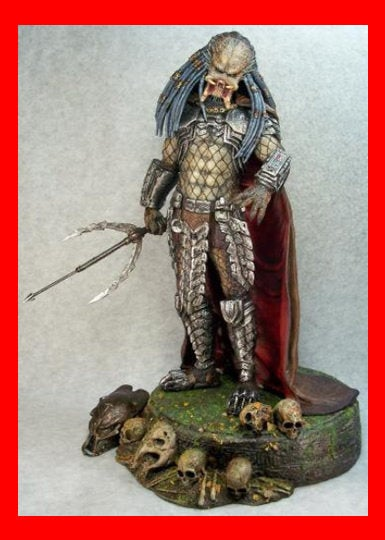 Ceremonial Elder Predator 1/6 resin model kit figures - indymodel88