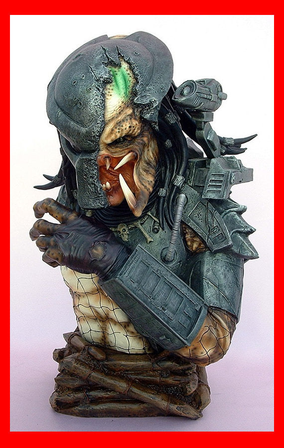 Predator Defeated Bust 1/2 resin model kit figures - indymodel88