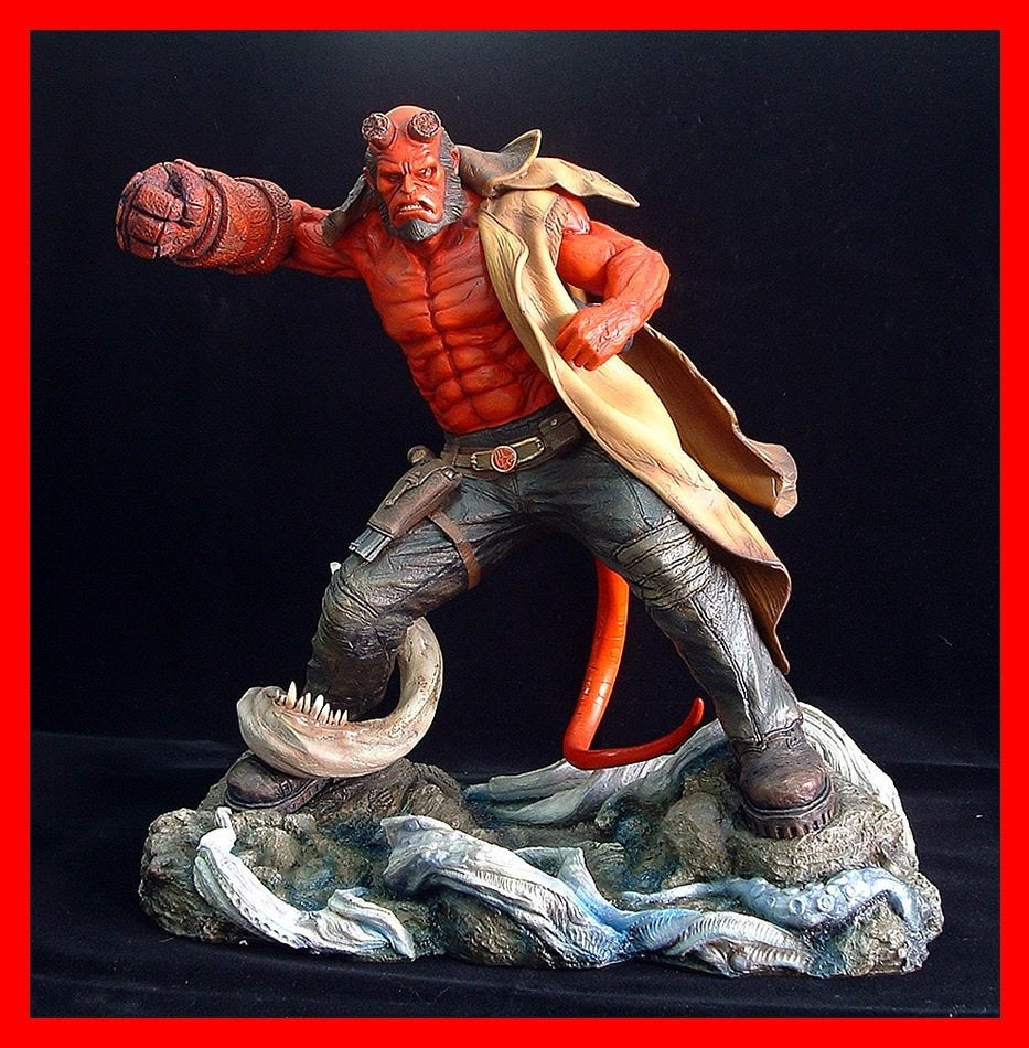 Movie Hellboy 1//6 Scales PVC Figure Model Movable 30cm New