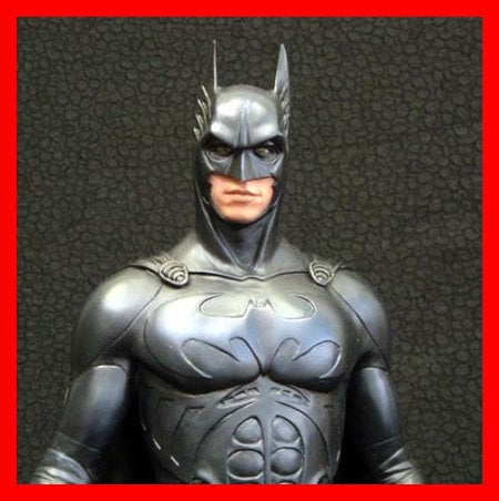 Batman Forever on Sonar Batsuit 1/6 Narin Sculpts resin model kit figures - indymodel88
