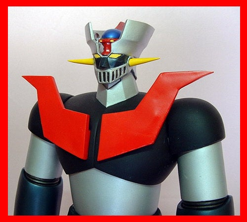 Mazinger Z Robot vinyl model kit figures 20