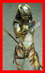 Shelaa Female Predator 1/6 Narin Sculpts resin model kit figures - indymodel88