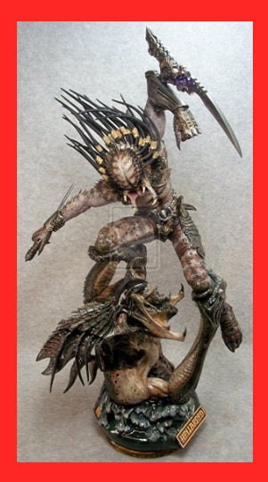 Hellbreed Predator 1/6 Narin Sculpts resin model kit figures - indymodel88