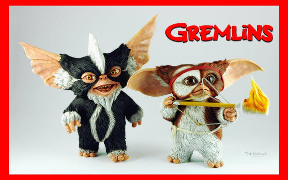 Gremlins Gizmo and Mohawk Lovely Duo 1/1 resin model kit figures - indymodel88