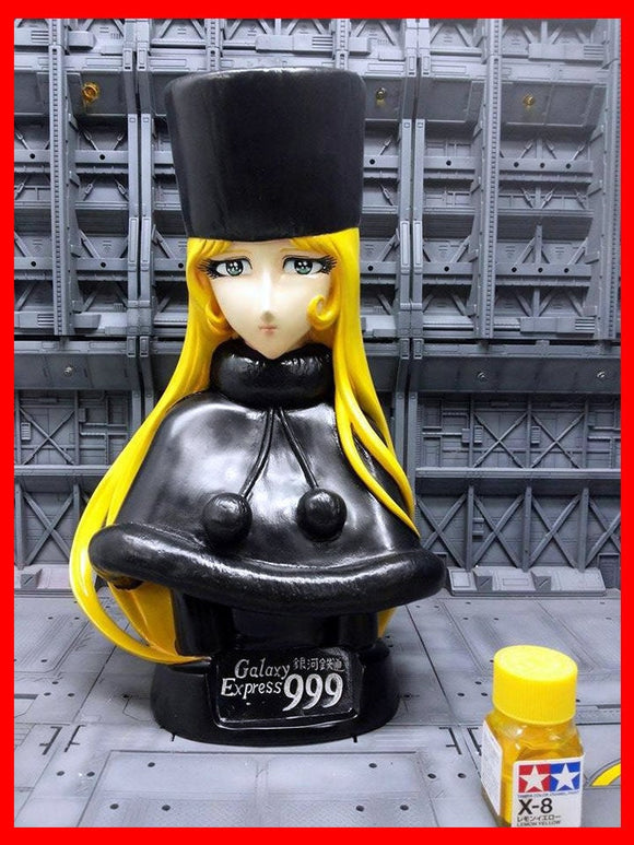 Galaxy Express 999 Maetel Bust 1/2.5 resin model kit figures - indymodel88