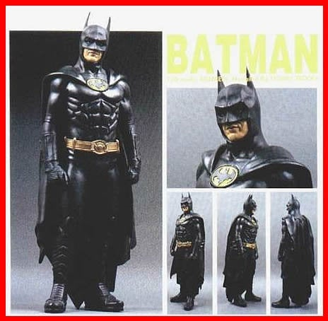 Batman Return Michael Keaton (#B) 1/6 vinyl model kit figures - indymodel88