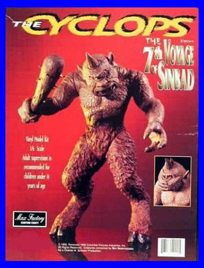 Cyclops The 7th Voyage of Sinbad 1/6 vinyl model kit figures - indymodel88