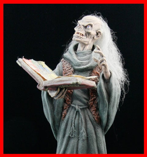 Tales from the Crypt Cryptkeeper 1/4 vinyl model kit figures - indymodel88