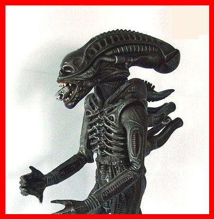 Alien Xenomorph Warrior 1/5 vinyl model kit figures - indymodel88