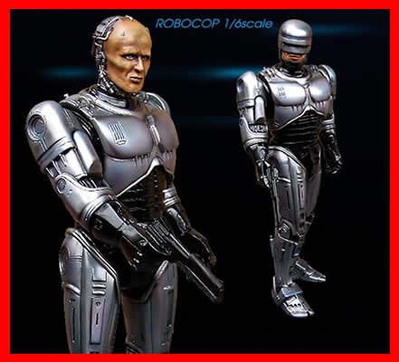 Robocop the Movie 1/6 vinyl model kit figures - indymodel88